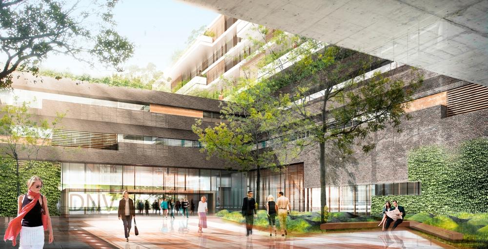 modern Danish hospital for doctors to work in Denmark